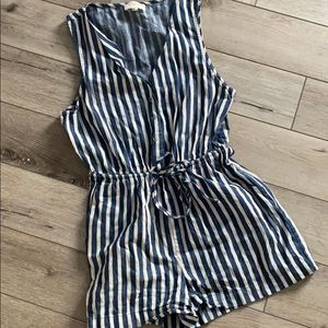 Everly Striped Romper - Size Small